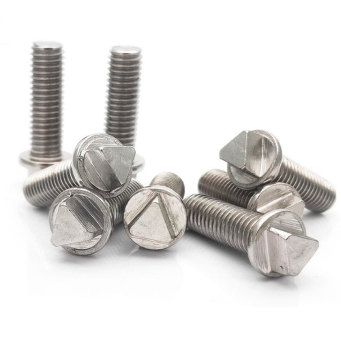 stainless steel 304 316 A2 triangle head Micro machine screws
