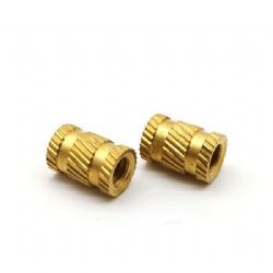 Wholesales m3 Brass Knurl Insert Nuts Threaded