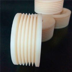 Plastic Nylon CNC Machined Parts Turning Processing